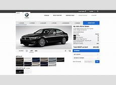 BMW G30 5 Series Configurator Goes Online For US Model