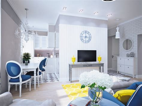 yellow decor blue and yellow home decor