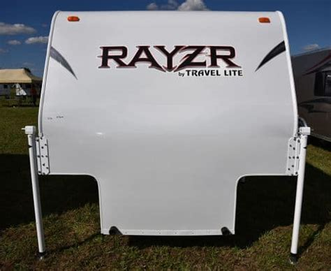travel lite rayzr  ton cabover  camper