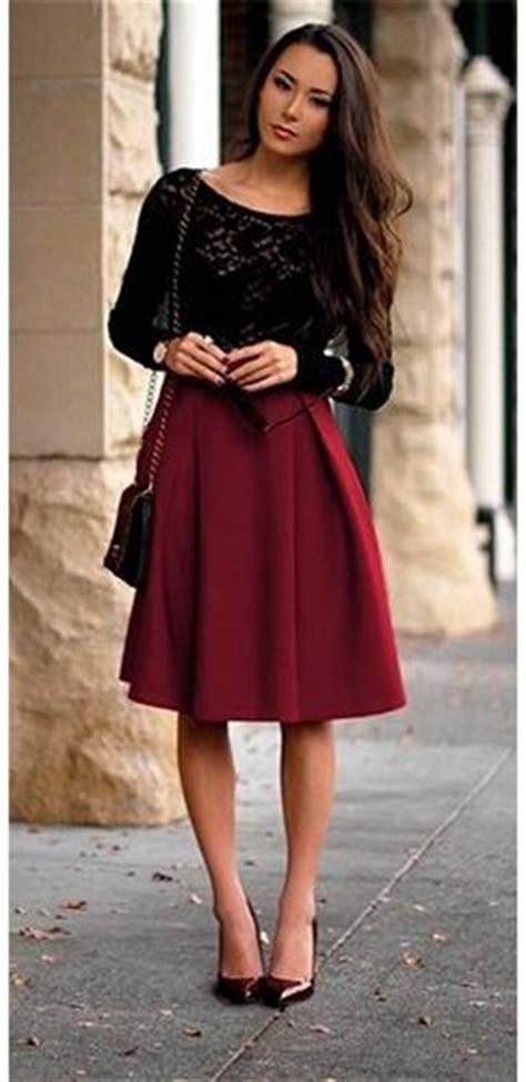 knee length skirts ideas  pinterest white high waisted skirt elegance style