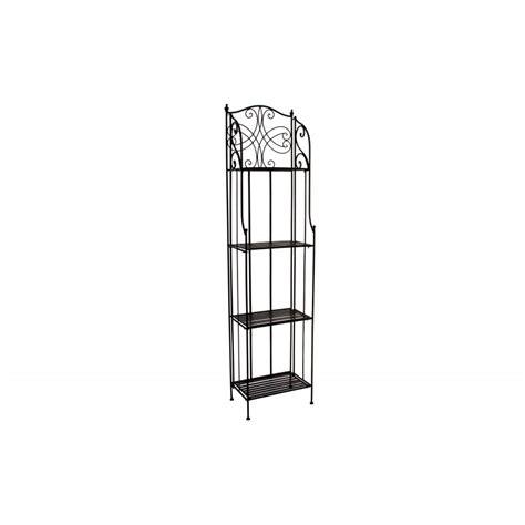 etagere ferro battuto libreria etagere in ferro battuto a 4 ripiani scaffale