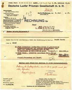 H M Rechnung : deutsche luxfer prismen gesellschaft mbh rechnung 1927 ~ Themetempest.com Abrechnung