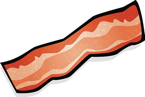 Bacon Clipart Bacon Clipart Pencil And In Color Bacon Clipart