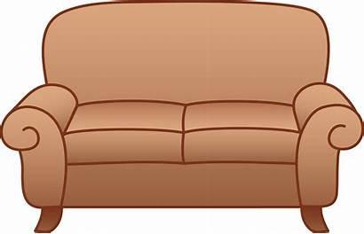 Cartoon Furniture Clipart Living Cliparts