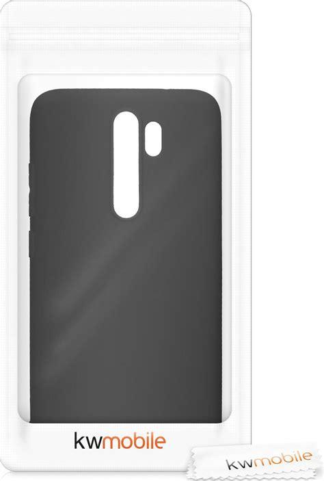 KW Soft Flexible Back Cover Σιλικόνης Black Matte (Xiaomi