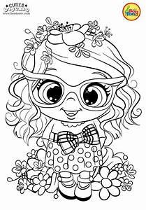 Cuties Coloring Pages For Kids - Free Preschool Printables - Slatkice Bojanke