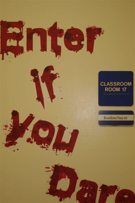 Halloween Classroom Door Decorating Contest by Halloween High Halloween Festivites At The High