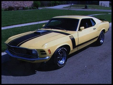 ford mustang boss  fastback  hp mecum