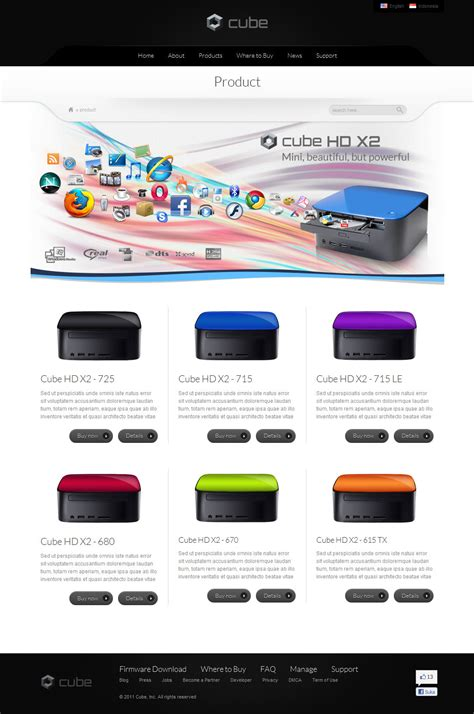 cube template theme forest cube retail and business template by indonez themeforest