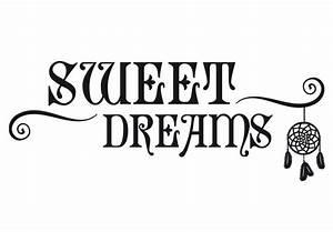 Wandtattoo Sweet Dreams : wandtattoo sweet dreams mit traumf nger das wandtattoo soll vor b sen tr umen sch tzen wall ~ Whattoseeinmadrid.com Haus und Dekorationen
