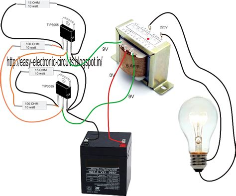 How Make Simple Inverter Circuit Home