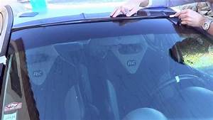 Stickers Pare Brise : stick auto pose d 39 un bandeau pare soleil youtube ~ Medecine-chirurgie-esthetiques.com Avis de Voitures