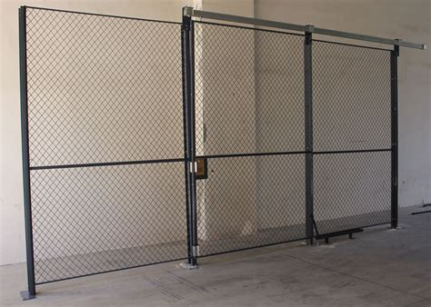 high performance wire mesh partition panels sliding wire mesh sliding door