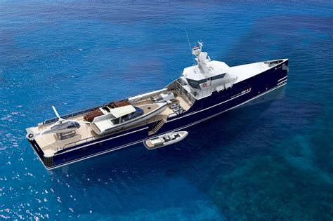 Sea Axe - Fast Yacht Support Ship Offer Complete Cruise Logistics - EXtravaganzi