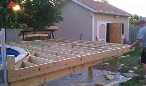 24 Ft Pool Deck Plans