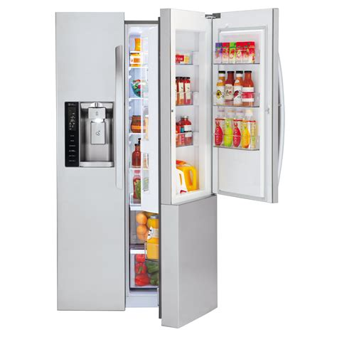 Side By Side Kühlschrank Door by Lg Lsxs26366s 26 1 Cu Ft Ultra Large Capacity Side By