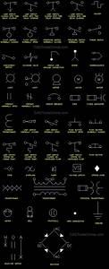 Autocad Electrical Blocks W Lighting  U0026 Power Symbols