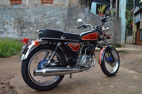 Gambar Cb by 70 Gambar Modifikasi Honda Cb100 Klasik Antik Otomotif