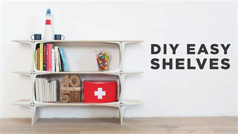 Charming Easy Shelf D I Y You Tube To Build For Garage