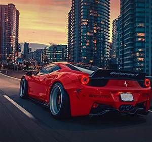 BEST FERRARI 458 LIBERTY WALK WIDE Wide Car Wallpapers