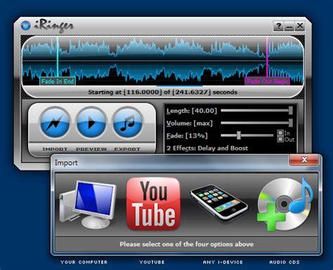 ringtones for iphone free iringer screenshot page