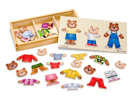 preschool toys and games amp doug mix n match wooden family 232