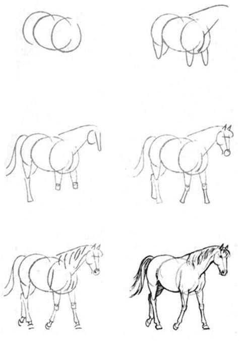 disegno bambina facile cavallo disegno per bambini facile con disegni di lupo