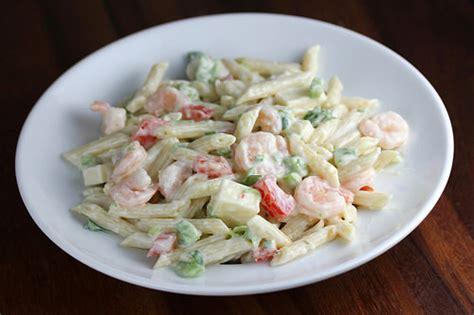 The shrimp salad appetizer that's perfect for backyard parties. Shrimp Cold Salad Recipe - BlogChef