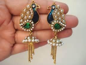 gold jhumka hoop earrings jhumka jhumki jewellery india