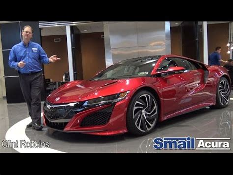 closer look at the 2017 acura nsx review youtube