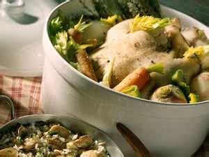 poule au pot henri iv recette sur cuisine actuelle