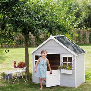 Cabane De Jardin Enfant : cabane de jardin enfant grise lola jardin fourniture ~ Farleysfitness.com Idées de Décoration