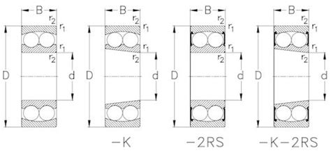 1204-tv-c3 Self Aligning Bearing Nke 20x47x14