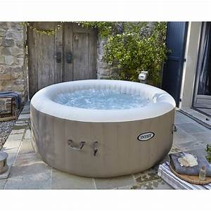 Spa Leroy Merlin : spa gonflable intex pure spa bulles rond 4 places assises ~ Voncanada.com Idées de Décoration
