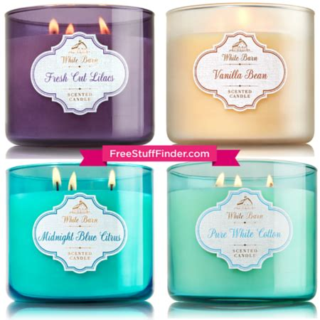 White Barn Candle Coupons by 10 Reg 22 50 Bath Works 3 Wick Candles