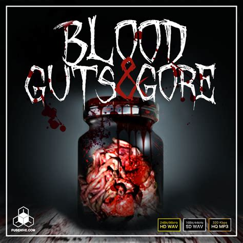 Blood Guts And Gore Gore Sound Effects Library