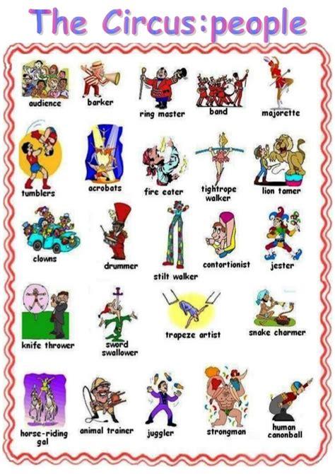 circus vocabulary