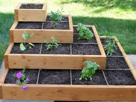 Build A Beautiful Tiered Garden Bed!  Diy Projects For