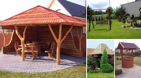 Idejas dārziem 9901- 9925   Outdoor structures, Outdoor ...