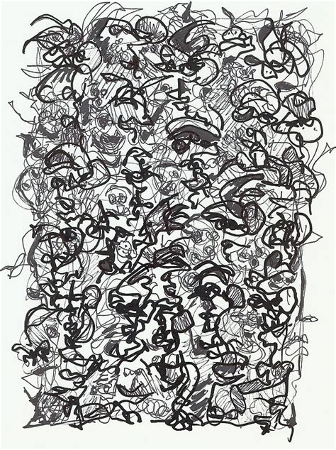crowded room drawing  steven barrett