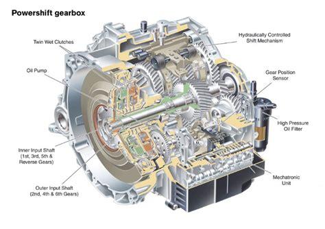 transmission repair manuals fordvolvo powershift dct