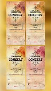 Brochure Word Template Free 16 Concert Ticket Templates Free Premium Templates