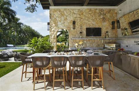 salon cuisinez meuble cuisine extérieur idées et conseils rangement pratique