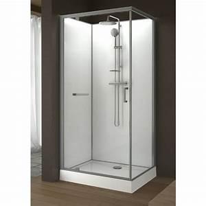 Cabine De Douche Rectangulaire : cabine de douche rectangulaire 100 x 80 cm porte ~ Melissatoandfro.com Idées de Décoration
