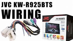 Nissan Pathfinder Bluetooth Car Stereo Install Jvc Kw-r925bts Part 2  Wiring