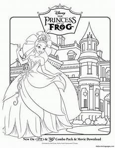 Princess Coloring Pages (5) - Coloring Kids