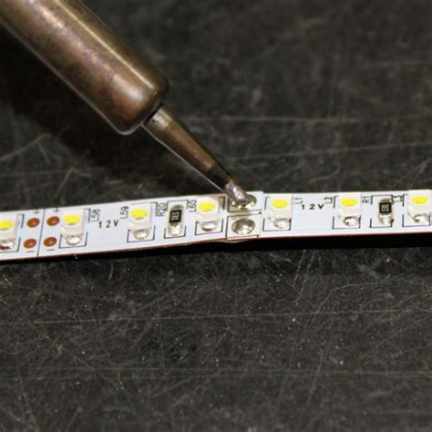 led tutorials overlap solder led lights