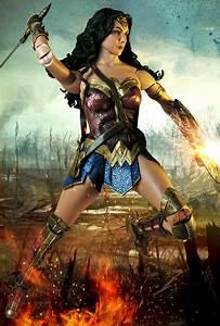 Wonder Woman  2017   U2013 1  4 Scale Action Figure  U2013 Wonder Woman  U2013 Necaonline Com