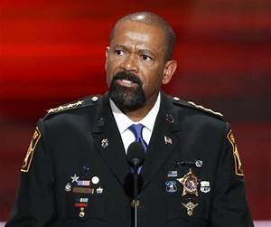 Sheriff David Clarke: Trump Speaks for Police and Those ...