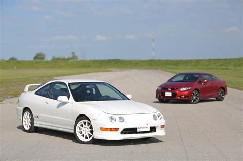 Type R Vs Si by 2013 Civic Si Vs 98 Integra Type R